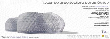 Taller de arquitectura param trica noticias eps for Arquitectura parametrica pdf